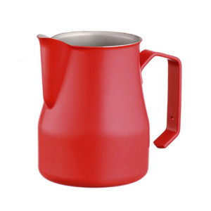 Motta Kumlamalı Latte Art Süt Potu Kırmızı 35 cl