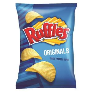 Ruffles Orijinal Sade Tırtıklı Patates Cipsi Süper Boy 23 Paket