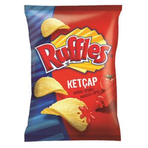 Ruffles Ketçaplı Tırtıklı Patates Cipsi Süper Boy 23 Paket
